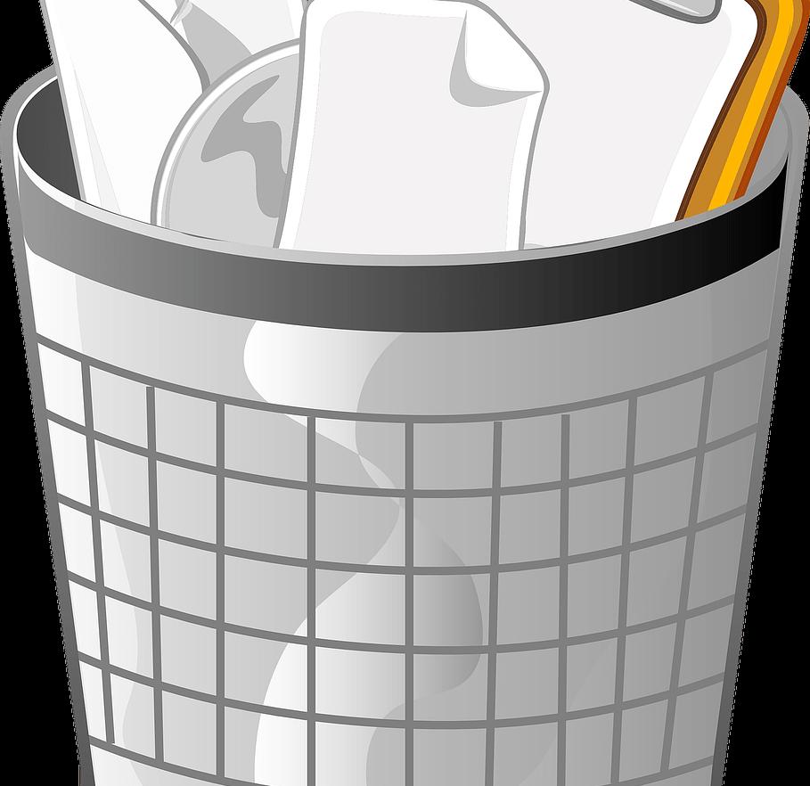 Desactiva la papelera de reciclaje