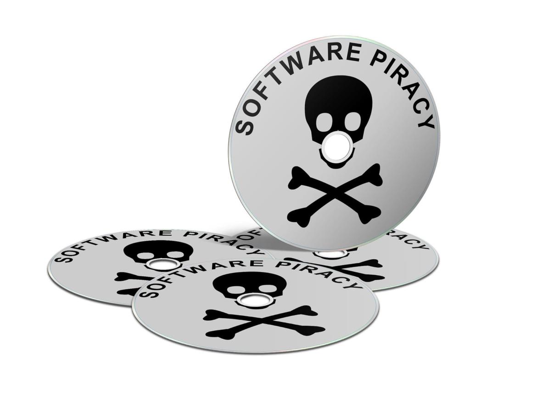 Baja la tasa de piratas en software