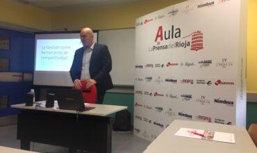 Gestión y competitividad - Nuevo taller del Aula de la prensa del Rioja