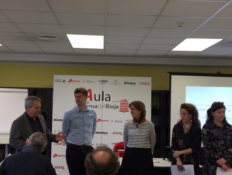 Apertura del Aula de La Prensa del Rioja